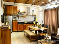 Candice House Model Kitchen Area at Lancaster Houses Cavite