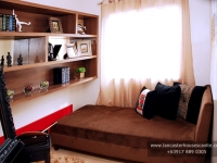 Catherine House Model Dressed Up Bedroom 2 at Lancaster Houses Cavite