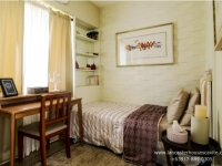 Chessa House Model Dressed Up Bedroom 1 at Lancaster Houses Cavite