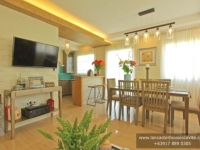 Chessa House Model Dressed Up Dining Area at Lancaster Houses Cavite