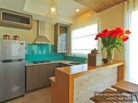Chessa House Model Dressed Up Kitchen Area at Lancaster Houses Cavite