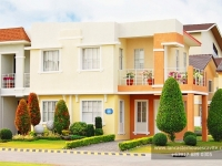 Diana House Model Dressed Up Exterior at Lancaster Houses Cavite