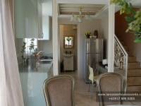 Gabrielle House Model Dressed Up Kitchen Area at Lancaster Houses Cavite