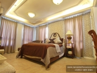 Gabrielle House Model Dressed Up Master's Bedrooms at Lancaster Houses Cavite