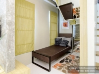 Mabelle House Model Dressed Up Bedroom 1 at Lancaster Houses Cavite