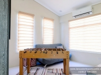 Mabelle House Model Dressed Up Bedroom 3 at Lancaster Houses Cavite