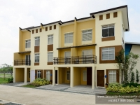 Mabelle House Model Dressed Up Exterior at Lancaster Houses Cavite