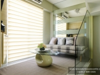 Mabelle House Model Dressed Up Family Room at Lancaster Houses Cavite