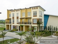Mabelle House Model Turn Over Exterior at Lancaster Houses Cavite