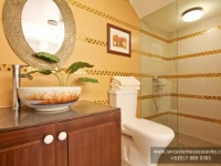 Margaret House Model Dressed Up Toilet and Bath at Lancaster Houses Cavite
