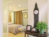 Margaret House Model Dressed Up Master's Bedroom at Lancaster Houses Cavite