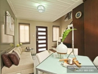 Sophie House Model Dressed Up Dining Area at Lancaster Houses Cavite