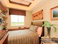 Alexandra House Model Dressed Up Bedroom 1 at Lancaster Houses Cavite