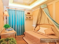 Alexandra House Model Dressed Up Bedroom 2 at Lancaster Houses Cavite