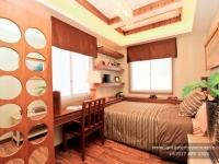 Alexandra House Model Dressed Up Bedroom 3 at Lancaster Houses Cavite