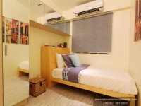 Anica House Model Dressed Up Bedroom 2 at Lancaster Houses Cavite