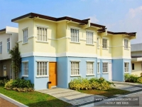 Anica House Model Dressed Up Exterior at Lancaster Houses Cavite
