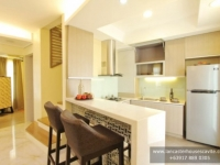 Briana House Model Kitchen Area at Lancaster Houses Cavite