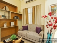 Briana House Model Family Room at Lancaster Houses Cavite