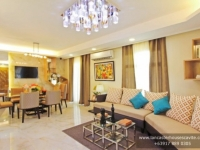 Briana House Model Living Area at Lancaster Houses Cavite
