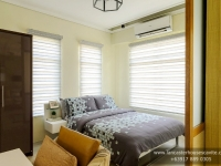 Mabelle House Model Dressed Up Master's Bedroom at Lancaster Houses Cavite