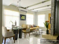 Mabelle House Model Dressed Up Dining Area at Lancaster Houses Cavite