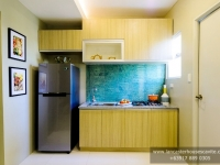 Mabelle House Model Dressed Up Kitchen Area at Lancaster Houses Cavite