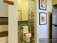 Mabelle House Model Dressed Up Toilet and Bath at Lancaster Houses Cavite