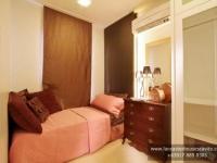 Margaret House Model Dressed Up Bedroom at Lancaster Houses Cavite