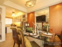 Margaret House Model Dressed Up Dining Area at Lancaster Houses Cavite