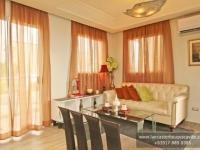 Margaret House Model Dressed Up Living Area at Lancaster Houses Cavite