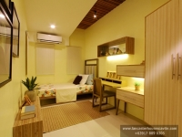 Thea House Model Dressed Up Bedroom at Lancaster Houses Cavite