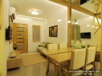 Thea House Model Dressed Up Dining Area at Lancaster Houses Cavite