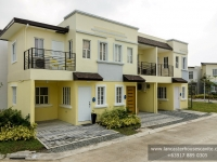 Thea House Model Dressed Up Exterior at Lancaster Houses Cavite