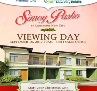 Lancaster New City Cavite Viewing Day Simoy Pasko 440 x 480 House and Lot For Sale In Cavite