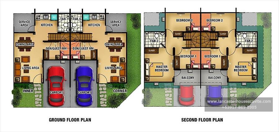 Adelle House Model Lancaster Houses For Sale In Cavite Lancaster Houses Cavite