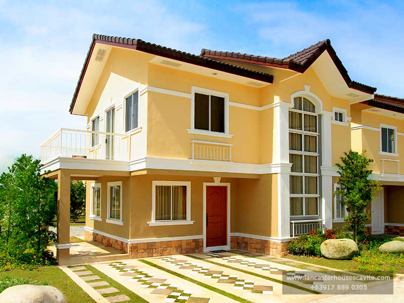 Alexandra House Model at Lancaster Houses Cavite