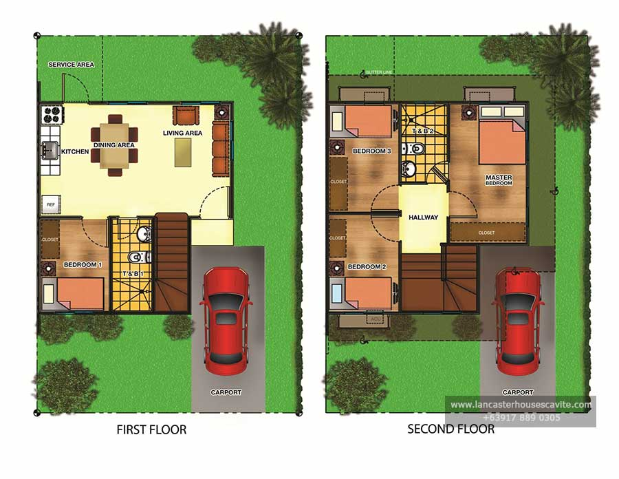 Candice House Model – House Model With Floor Plan