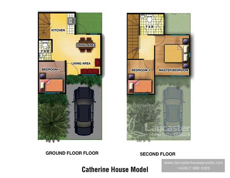 Catherine House Model Lancaster Houses For Sale In Cavite Lancaster Houses Cavite