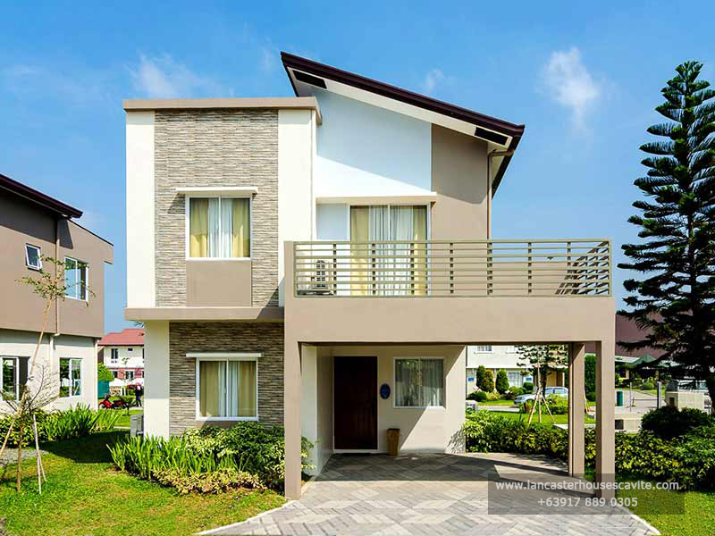 Chessa House Model at Lancaster Houses Cavite
