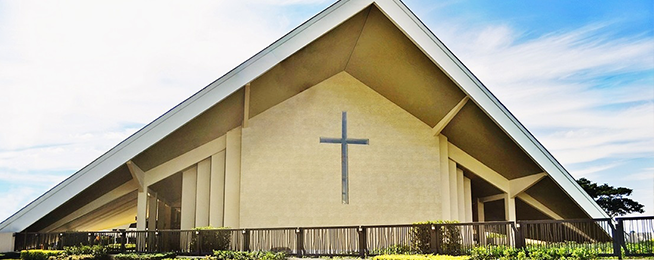 Catholic Church Amenities and House For Sale at Lancaster Houses Cavite