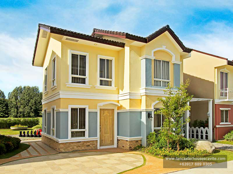 Gabrielle House Model at Lancaster Houses Cavite