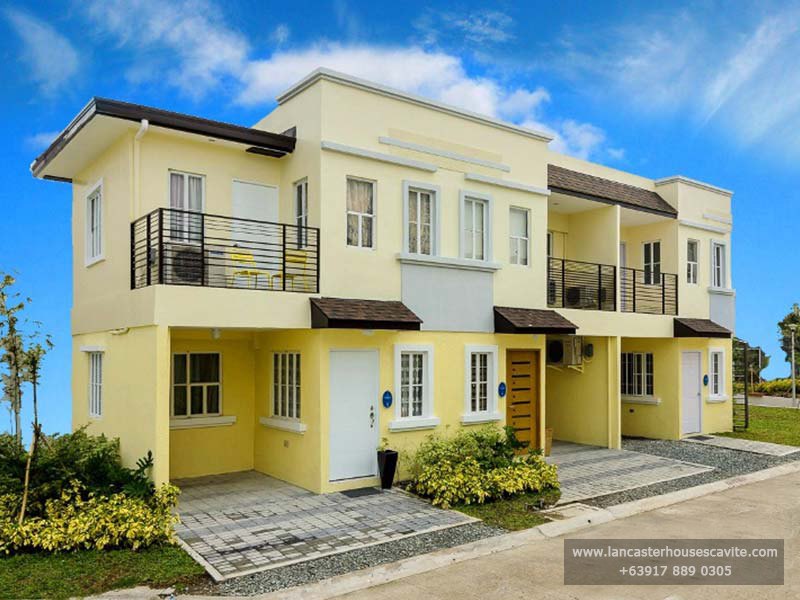 Lancaster New City Cavite - Thea House Model - Affordable House and Lot For Sale in Imus, Kawit and General Trias Cavite Philippines