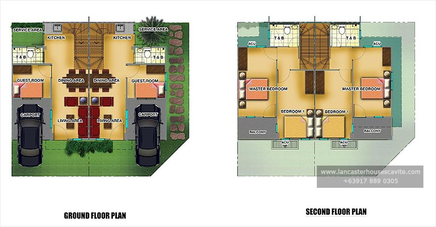 Thea House Model – House Model With Floor Plan