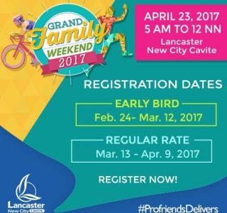 Lancaster New City Cavite Grand Family Weekend Duathlon and Fun Run April 23, 2017