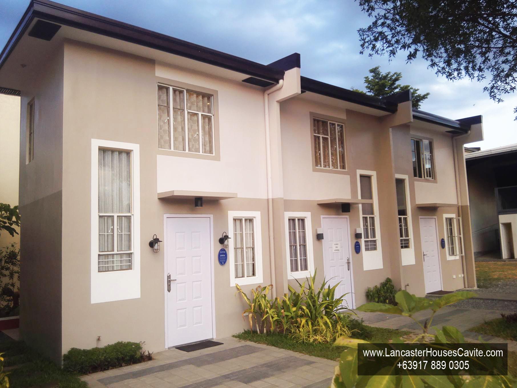 Emma House Model Lancaster Houses For Sale In Cavite Lancaster Houses Cavite